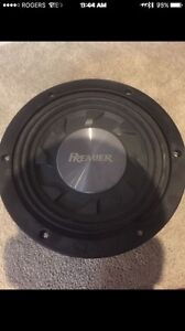 Pioneer shallow mount sub with amp
