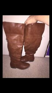 Over the knee women's boots