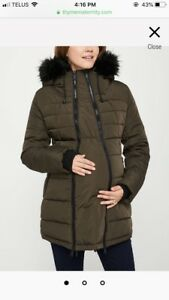 Maternity winter jacket