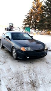 2003 Hyundai tiburon, manual