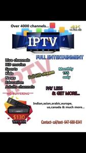 Best Iptv service in town, 15$ only monthly...