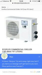 Ecoplus chiller / hydroponic