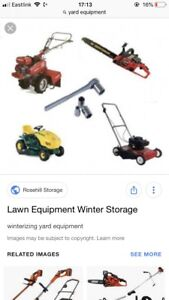 WANTED: yard equipment