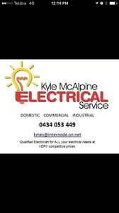 Electrician - Kyle McAlpine Electrical Service Redwood Park Tea Tree Gully Area Preview