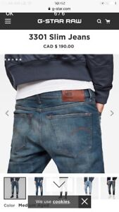 G-STAR JEANS BRAND NEW 100% AUTHENTIC