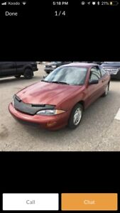 1995 Chevy caviler coupe low mileage