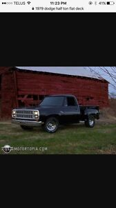 Looking for a 1972-1979 dodge truck