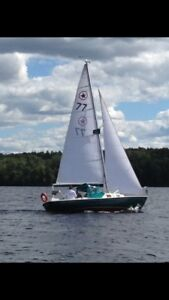 Olympic Star 24 ft sailboat