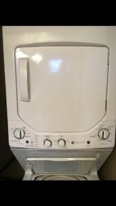 GE washer and dryer combi