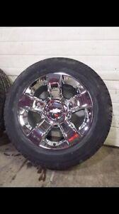"""20"""" Factory Silverado rims & tires"""