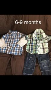 Babe boys 0-18 month mixed lot