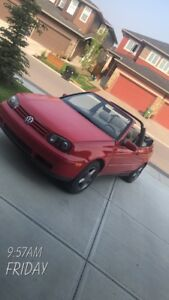 1999 VW cabrio (lots of work done to it)