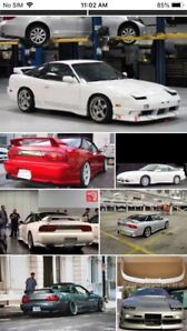 Looking for Nissan 240sx parts