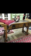 Oriental altar style gilded hall table sideboard drawers Glebe Inner Sydney Preview