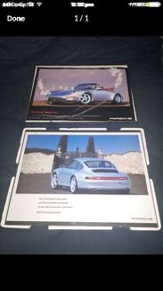 Porche pictures frame in good condition $20 for the both