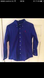 Polo Ralph Lauren men's Large long sleeve shirt Kellyville The Hills District Preview