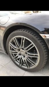 4 x Porsche Winter Tires & Mag Wheels - Like New