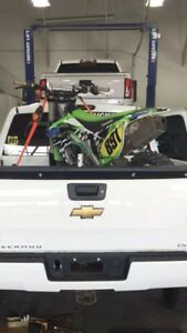 2015 KX250f      10 hours on fresh top end
