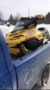 2002 mxz 800 zx trade for rev chassis