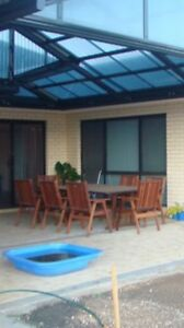 FOR SALE 11PCE OUTDOOR SETTING SOILD WOODEN FURNITURE Mount Barker Mount Barker Area Preview