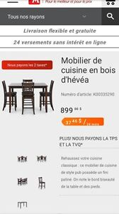 Ensemble table a manger