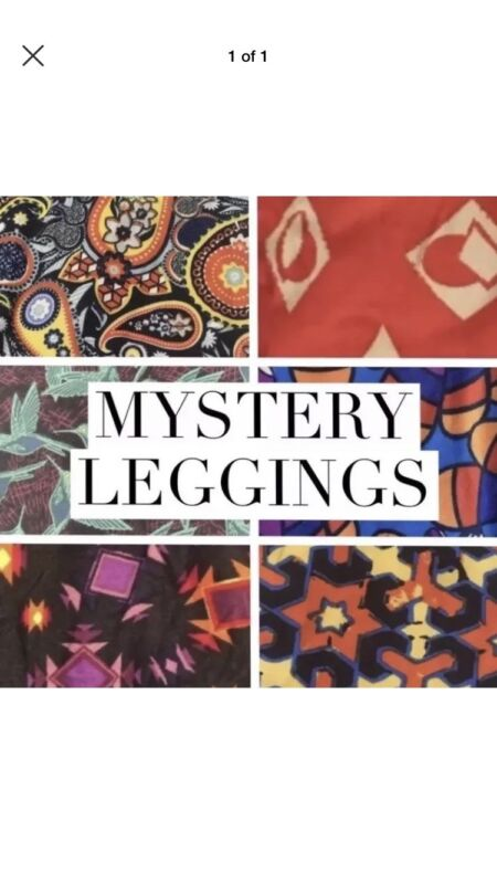LuLaRoe kids L/XL NWT New leggings 8-12 Large XLarge Mystery Pair /Solid Pattern