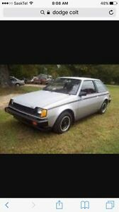 Wanted- dodge colt!