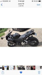 Honda CBR500R black 2013
