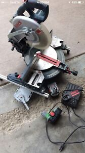 18v Rechargeable Bosch mitre saw
