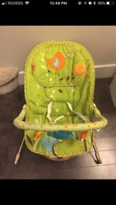 Fisher Price Comfy Bouncy Time Chair $30
