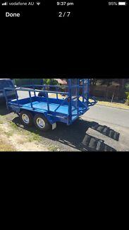 Tandem plant trailer 3.5 Ton heavy duty!!!!!
