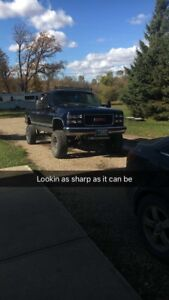 Lifted 1998 gmc k1500