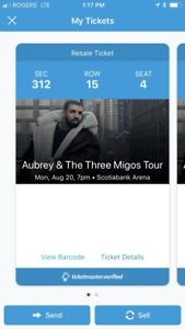 Drake concert tickets