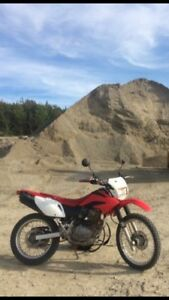 2008 CRF 230L street and trail with papers