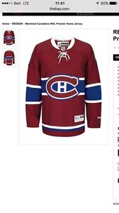 Chandail jersey Canadiens
