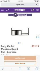 Cache expresso toddler guardrail