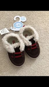 Size 6-12 month Baby Boy Shoes- New