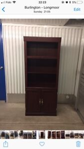 Beautiful cherrywood bookshelf and coffee table (free delivery)