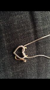 Heart neckalace