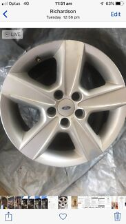 Ford Falcon BA-BF 17inch x4 of Factory Alloy Mag Wheels Oxley Tuggeranong Preview
