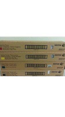Xerox Docucolor 550 560 570 C60 70 006R1521 6R1522 6R1523 6R1524 Toner Set Meter