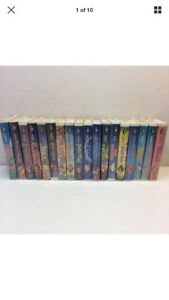 Complete set Walt Disney black diamond classic VHS