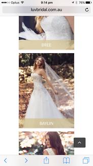 Mia Solano Baylin size 18 wedding dress