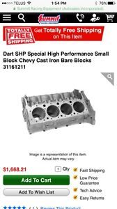 Dart SHP Special High Performance Small Block Chevy