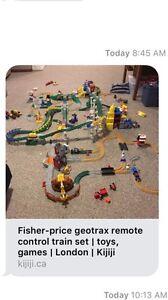 Fisher-Price Geotrax : Remote Control Train Set