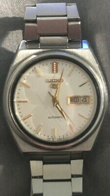 Seiko 5 Automatic 7009 Watch Vintage