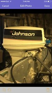 40 HP Johnson Outboard.