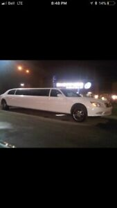 1999 Lincoln town car limo with a Mercedes body