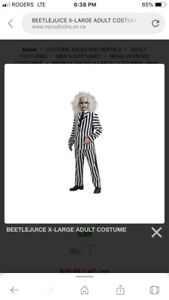 Costume Halloween beetle juice