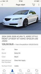 Lip Acura TL style a-spec
